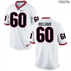 UGA Bulldogs Limited Kids Allen Williams Jerseys Youth Small - White