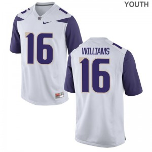 Amandre Williams Limited Jersey Kids Player UW White Jersey