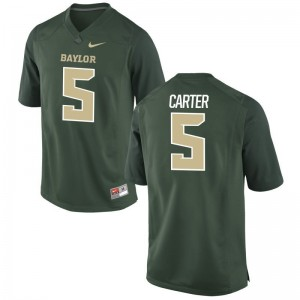 Amari Carter Limited Jersey For Men Hurricanes Green Jersey