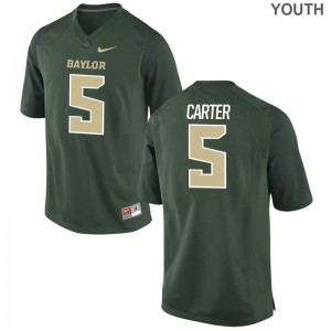 Hurricanes Youth Limited Amari Carter Jerseys Small - Green