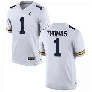 Limited Ambry Thomas Jerseys XX Large For Men Michigan - Jordan White