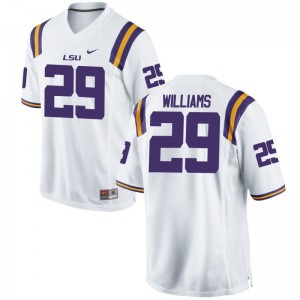For Men Andraez Williams Jersey XXX Large LSU Limited White