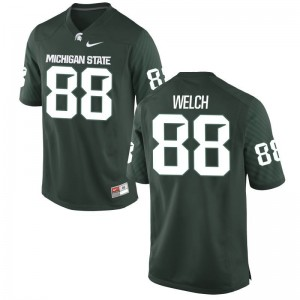Limited Green Andre Welch Jersey Mens MSU