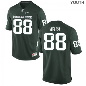 Andre Welch Spartans Jerseys XL Youth Limited Jerseys XL - Green