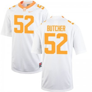 Limited Kids Tennessee Jerseys Youth Small of Andrew Butcher - White
