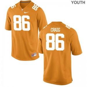 Orange Andrew Craig Jerseys Small UT Kids Limited