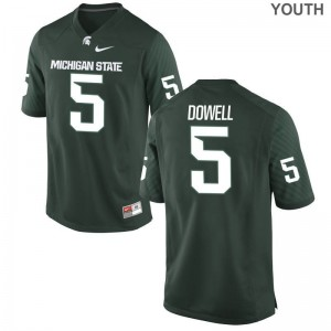 Michigan State Andrew Dowell Jersey XL Youth Limited - Green