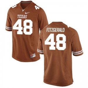 Andrew Fitzgerald Texas Longhorns Jerseys XL Orange For Men Limited