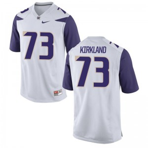 Men XXL Washington Huskies Andrew Kirkland Jerseys Mens Limited White Jerseys