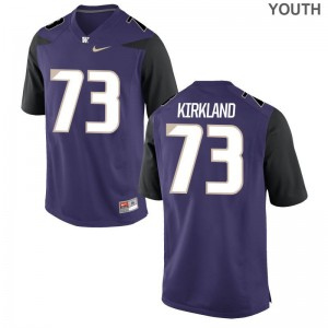Andrew Kirkland Jerseys Small Youth(Kids) Washington Limited - Purple