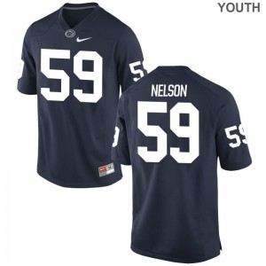 PSU Andrew Nelson Jerseys X Large Youth(Kids) Limited - Navy