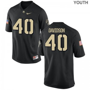 Andy Davidson Army Jerseys Youth Large Limited Youth Black