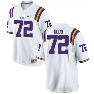 Kids Limited University Louisiana State Tigers Jerseys Andy Dodd White Jerseys