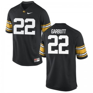 Youth Angelo Garbutt Jerseys Stitched Black Limited Hawkeyes Jerseys