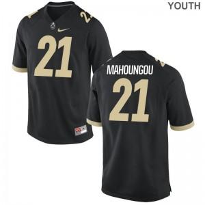 Anthony Mahoungou Purdue University Jerseys Medium Youth Limited - Black
