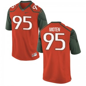 Anthony Moten Jersey Men XL Hurricanes Limited Men - Orange