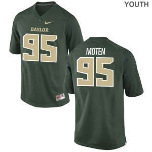Anthony Moten For Kids Jerseys Youth Large Miami Hurricanes Green Limited