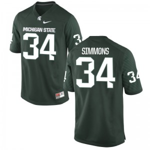 MSU University Antjuan Simmons Limited Jersey Green Mens