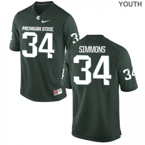 Antjuan Simmons MSU For Kids Jerseys Green Limited Jerseys