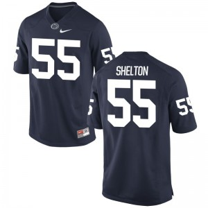 Penn State Nittany Lions Antonio Shelton Jersey Limited Mens Navy