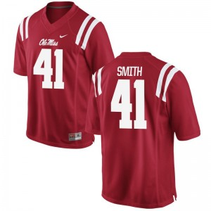 Ole Miss Rebels Antwain Smith Jerseys S-XL For Kids Limited Red