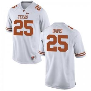 Limited Antwuan Davis Jersey Men XXL Texas Longhorns For Men White