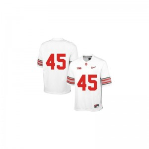 OSU Buckeyes Archie Griffin Jersey Small For Kids Limited Jersey Small - White Diamond Quest Patch