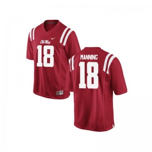 Archie Manning Ole Miss Jerseys Youth Medium Limited Red Youth(Kids)