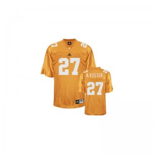 Youth Small Tennessee Vols Arian Foster Jersey Football For Kids Limited Orange Jersey