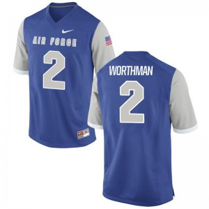 Air Force Academy Jersey Men XXXL of Arion Worthman Men Limited - Royal