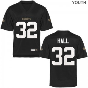 Ashton Hall UCF Knights Jerseys Medium Youth(Kids) Black Limited
