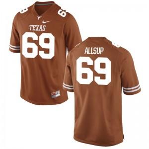Austin Allsup Mens Jerseys Men XXL Orange Limited University of Texas