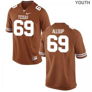 Austin Allsup UT Jerseys Large Limited Orange Youth
