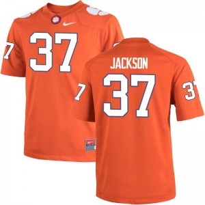 Men Limited Clemson Jersey XXL Austin Jackson - Orange
