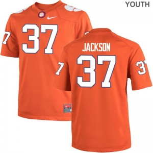 Clemson Austin Jackson Jersey Youth Small Youth Orange Limited