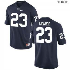 Penn State Ayron Monroe Jersey Youth Small Navy Limited Youth(Kids)
