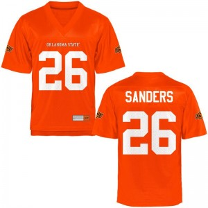 Limited Oklahoma State Cowboys Barry Sanders For Kids Jerseys Youth X Large - Orange