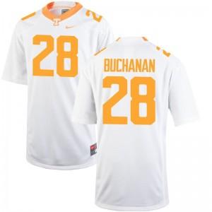 Tennessee Volunteers Mens White Limited Baylen Buchanan Jersey XXXL