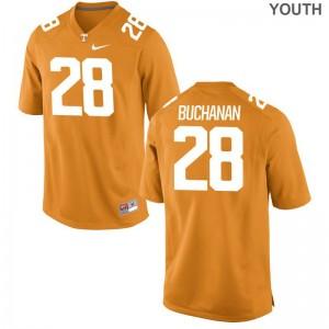 Tennessee Volunteers Baylen Buchanan Jersey Youth Medium Orange Limited Youth