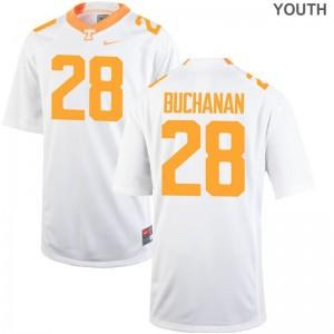 For Kids Limited Football UT Jersey Baylen Buchanan White Jersey
