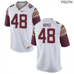 FSU Ben Hoyle Limited For Kids NCAA Jerseys - White