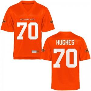 Ben Hughes Jerseys 2XL OK State Mens Limited - Orange