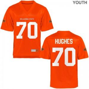 Ben Hughes OSU Cowboys Jerseys Youth XL Limited Youth - Orange