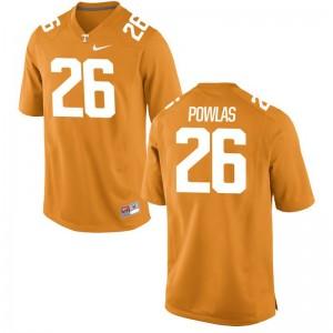 Ben Powlas Tennessee Volunteers Jersey Men Orange Limited