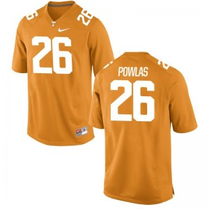Ben Powlas For Kids Jersey Youth Small Tennessee Orange Limited