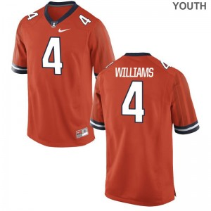 Limited Youth Illinois Jersey Youth Large of Bennett Williams - Orange