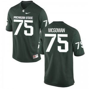 Benny McGowan Men Jerseys Michigan State Spartans Limited - Green