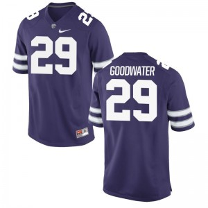 Bernard Goodwater Men Jersey 2XL Kansas State University Limited - Purple