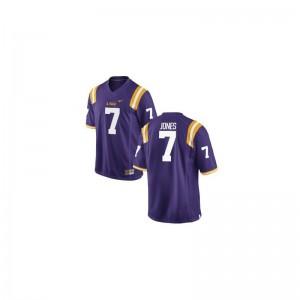 Tigers Bert Jones Jersey Men XXL Men Purple Limited