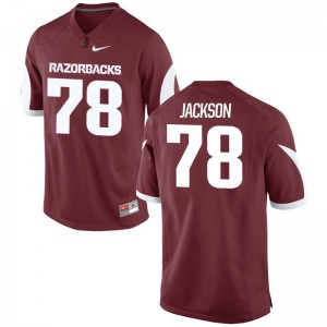 Bijhon Jackson Men Jerseys 3XL Limited Arkansas Cardinal